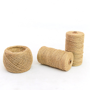 Burlap Rope Natural Hessian Jute Twine Burlap String Hemp Rope for Wedding Gift Wrapping Cords Thread DIY Craft Home Woven Decor 10m lot 15mm 38mm jute burlap ribbons diy handmade crafts hessian twine rope cords rustic wedding birthday party decoration