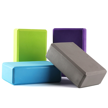 Fitness Block Lightweight EVA Foam Brick Yoga Props High Density Eco-friendly Training Stretching Accessories