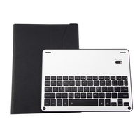 Removable Bluetooth Keyboard PU Leather Case ABS Frame Aluminum Alloy Keyboard For IPad 9 7 Pro