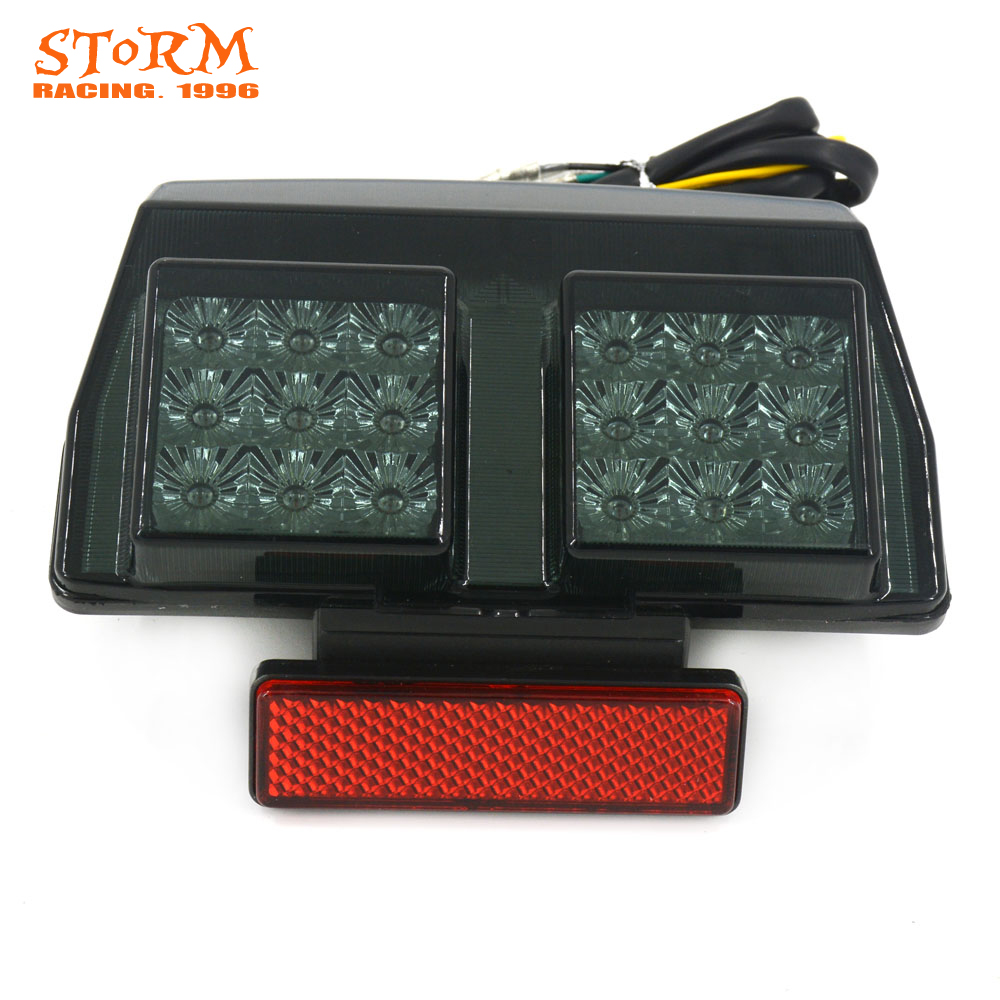 Motorcycle Black Rear Tail Light Brake Integrated LED Taillight For DUCATI 748 916 996 1994-2003 998 2002 2003 2004
