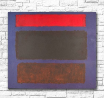 Wall Pictures For Living Room Abstract Mark Rothko No. 16 1960 Canvas Art Home Decor Modern No Frame Oil Painting
