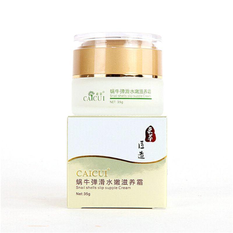 Супер Природный уход за кожей экстрактом улитки кремовое увлажняющее Отбеливание анти-против старения-морщин