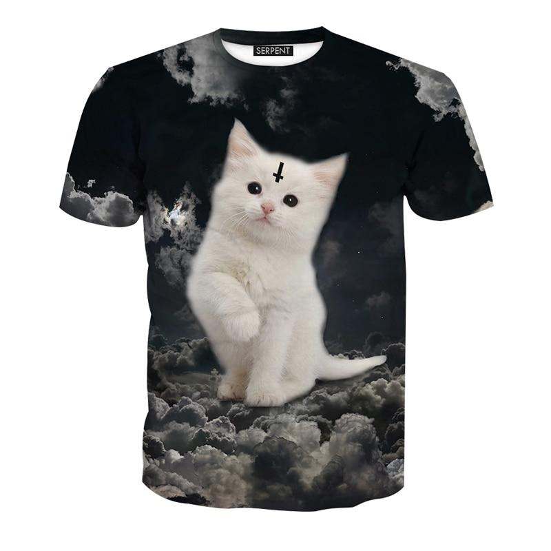 Жаңа келу 2018 Күлкілі 3D T shirt Ерлер - Ерлерге арналған киім - фото 5