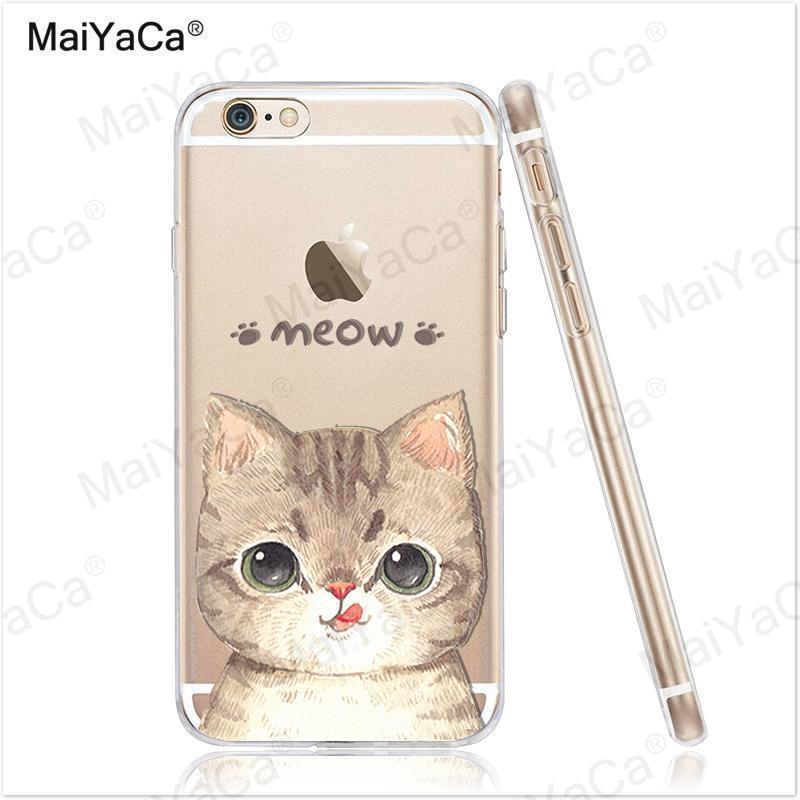 MaiYaCa telefonfodral för iPhone 4s 5s 6s 7 plus mjukt genomskinligt - Reservdelar och tillbehör för mobiltelefoner - Foto 2