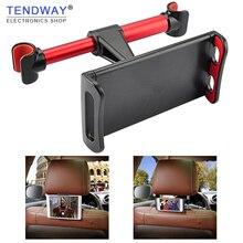 Автомобильный держатель планшета Подставка для Ipad 2/3/4 Air Pro 7-11 'телефон Универсальная Подставка для телефона на заднюю панель чехлы для сидений автомобиля из ткани, Mount 360 вращения