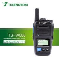 New Arrival GSM/3G Sim Card Smart PTT WCDMA Portable Walkie Talkie TS W680
