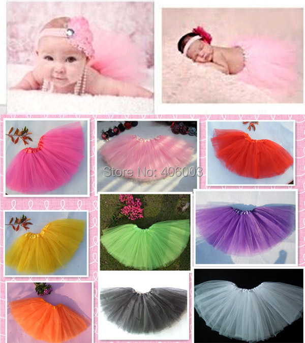 3b747ebeb Free Shipping Wholesale Baby Girls Tutu Skirt Kids Toddler Infant  Photography Skirts Newborn Tutus Skirt 0-2T