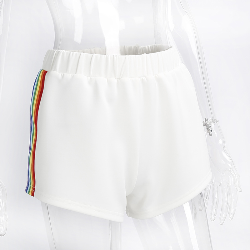 HTB1aYxbSpXXXXXmaFXXq6xXFXXXt - Rainbow Short Women PTC 38