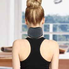 Moxibustion electric neck belt heating hot neck collar non-self-heating warm protection cervical sleeve neck collar men women non carious cervical lesions