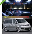 Free Shipping 16pcs White Canbus NO Error LED Interior Light KIT FOR VW T5 Multivan Highline