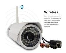 Onvif ip-камера WI-FI Мегапиксельная 720 P HD Открытый Беспроводной Безопасности CCTV Камеры Ик-Слот Для Карты SD P2P