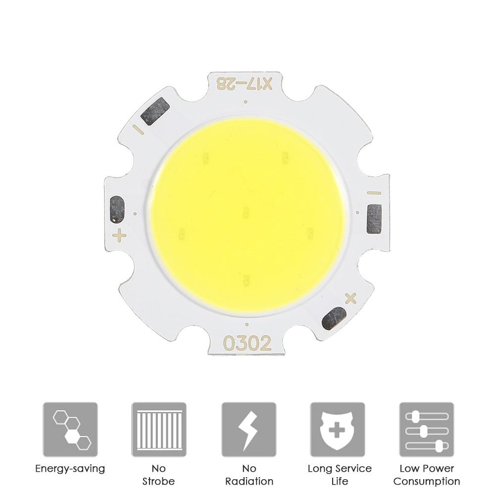 High Power LED Chip 3W 5W 7W Warm Cold White Red Green Blue Yellow RGB SMD DIY COB Light Bulb Lamp 12V COB LED Bead Chip
