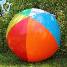 ada00699d Dia 1,5 m/2 M 6-Color inflable gigante playa pelota piscina diversión playa  agua juguetes natación flotador Boia De Piscinas