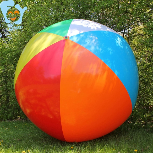 Dia 1 5m 2m 6 Color Inflatable Giant Beach Ball Pool Fun Water