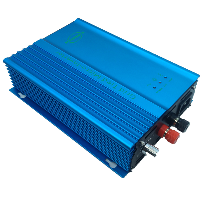 500W grid tie solar system PV Input 39v 60v inverter to ac 36V Battery discharge Power Output Adjustable Battery energy recovery