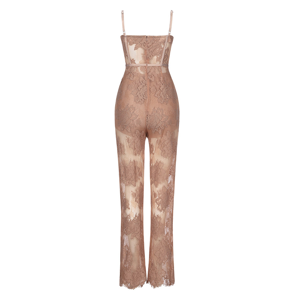 Party Jumpsuit Lace Sexy