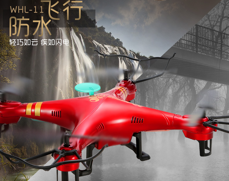 Micro Waterproof RC Drone RC Helicopter RTF With Camera remote control