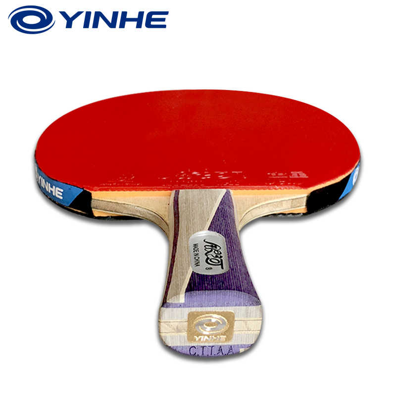 Yinhe Galaxy 9 Star Table Tennis Racket For National Pips-in Finished Rackets Racquet Sports pingpong bat With Bag