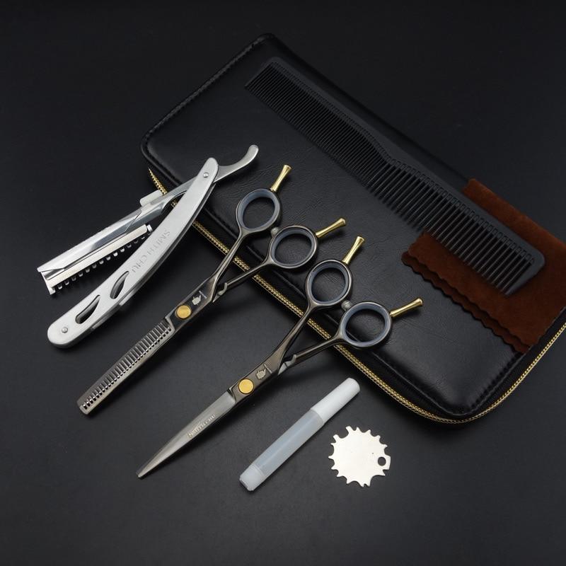 5.5 Inch Smith Chu Professional Hairdressing Scissors Set,straight &thinning Scissors Set,good Quality,s059 Beauty & Health