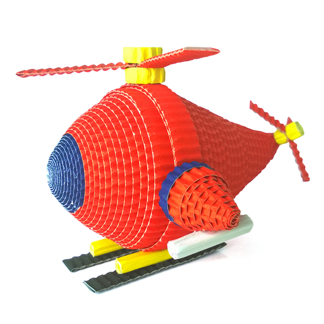 Kids paper craft diy helicopters model educational toy papercraft kids paper craft diy helicopters model educational toy papercraft art lesson children creative gifts fun parent solutioingenieria Images