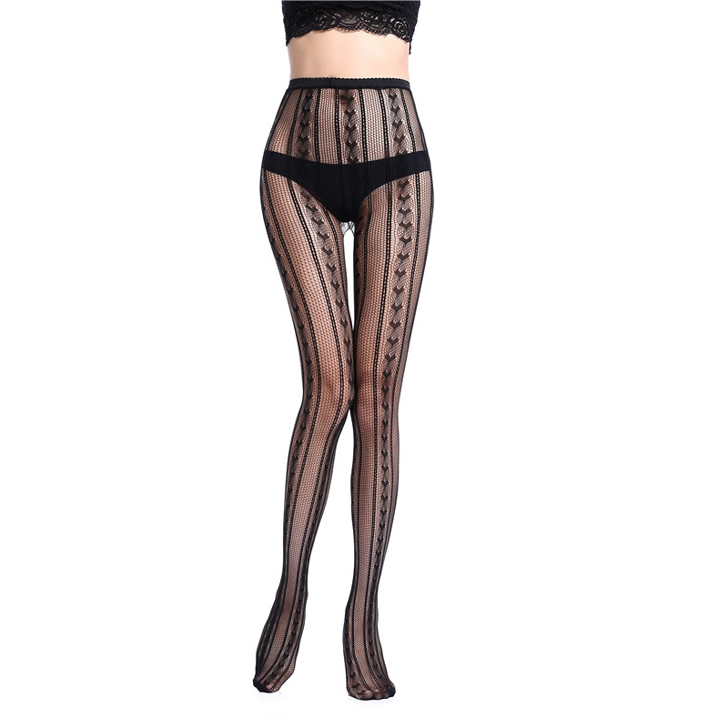 New Fashion Sexy Women Long Fishnet Sexy Stockings Pantyhose Mesh Stockings Lingerie Skin Thigh High Stocking For Female DWK05