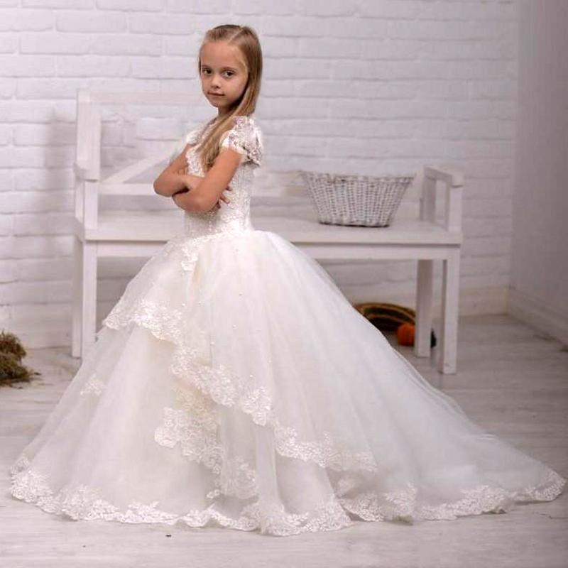 Beach wedding flower girl dresses promotion shop for for Flower girl dress for beach wedding