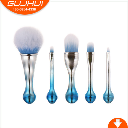 5 Makeup Brush Sets, Make-up Tools, Beauty Lollipop, Amazon Exquisite GUJHUI Rhyme 5 makeup brushes mermaid makeup brushes make up tools suit sets brush makeup gujhui rhyme color