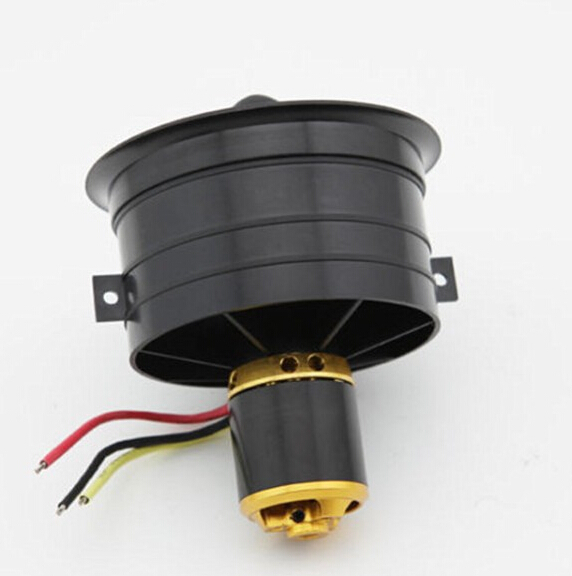 1 set Change Sun 64mm Ducted Fan Set 12 Blades Electric EDF With 4s motor kv2500 all set ...