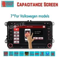 Free shipping,Hot Sale 2 DIN Car DVD for VW JETTA GOLF MK5 MK6 GTI PASSAT B6 POLO SKODA Fabia GPS Navigation Radio USB