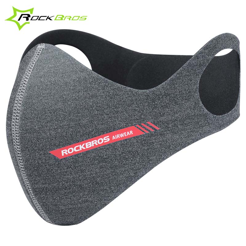 Rockbros PM2.5 Dustproof Sport Bicycle Mask Half Face Shield Windproof Bike Cycling Mask Activated Carbon Filter Running Mask outdoor cycling half face mask dust windproof anti pollen allergy activated carbon masks filter sports riding running lcc