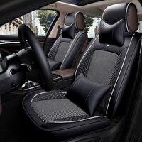 Кожаный чехол для сидения автомобиля для vw volkswagen golf mk3 mk4 mk5 mk6 mk7 jetta 6 Lupo passat b3 b5.5 b6 b7 b8 passat cc