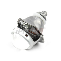 Free Shipping IPHCAR Universal Easy Install LHD Bi Xenon 3 Inch Lens for Headlights Retrofit without HID Special Bulb