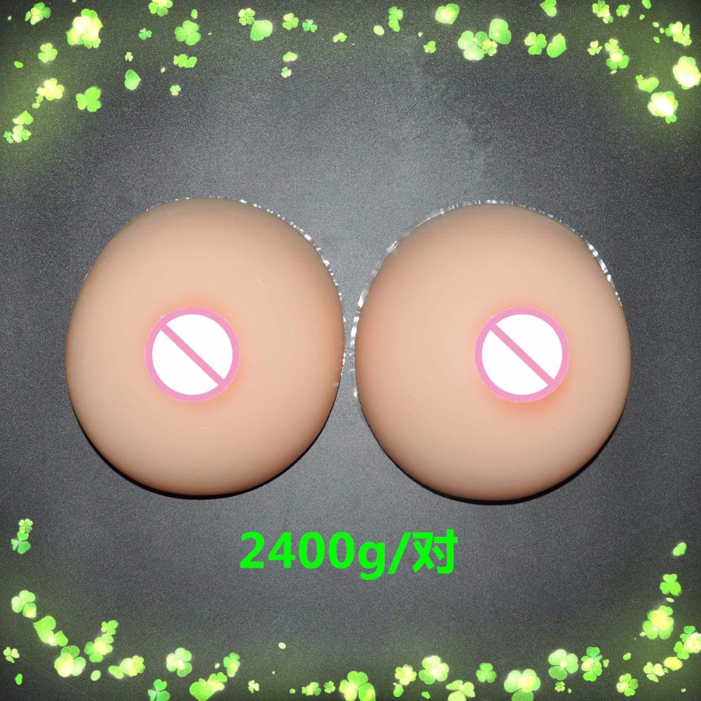 2400g G CUP silicon breast form Full Boobs For Cross-Dress realistic natural drop shipping wholesale