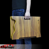 Wood Folding King Magic Tricks Props Toys Email Video To You