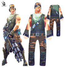 Game Skin Costume Kids Cosplay Boys Costumes Jumpsuits Children Halloween for Festive Party Supplies