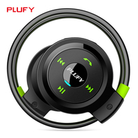 Plufy Bluetooth Headset Wireless Stereo Headphone Microphone AptX Sweatproof Sport Earphone For IPhone 7 Android Phone