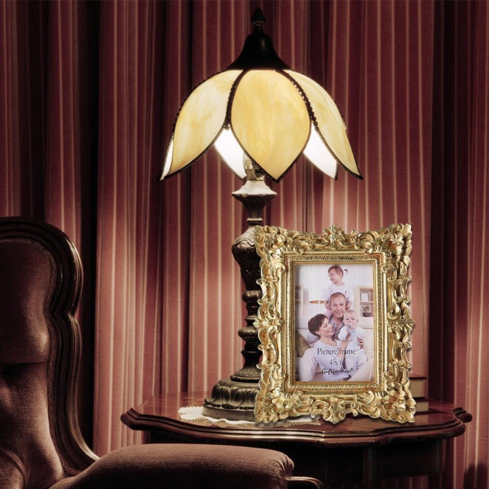 Giftgarden 4x6 Vintage Bilderrahmen Gold Bilderrahmen ...