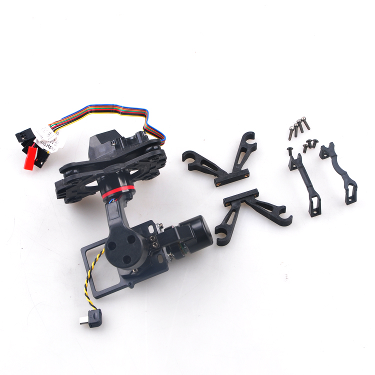 F15983 HMG YI3D 3 axle Glass Fiber Brushless Gimbal Camera Mount Plug & Play for SJ4000 SJ45000 SJ6000 Xiaoyi XiaoMi FPV игра yako кухня y18614127