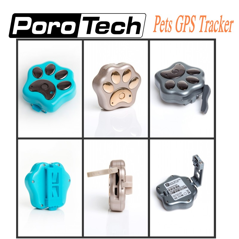 5pcs V30 Wifi Pets GPS Tracker Dog Cat Anti Theft GSM GPRS APP phone Real Time Tracking Alarm Monitor Device Global GPS Location tracking pets gps tracker a9 with app for android phone and iphone