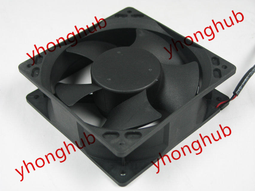 Free Shipping For Yate Loon D12BM-24D DC 24V 0.3A, 120x120x38mm 2-Wire, 3-Pin Connector Server Square fan free shipping 24v dc mig welding wire feeder motor single drive 1pcs