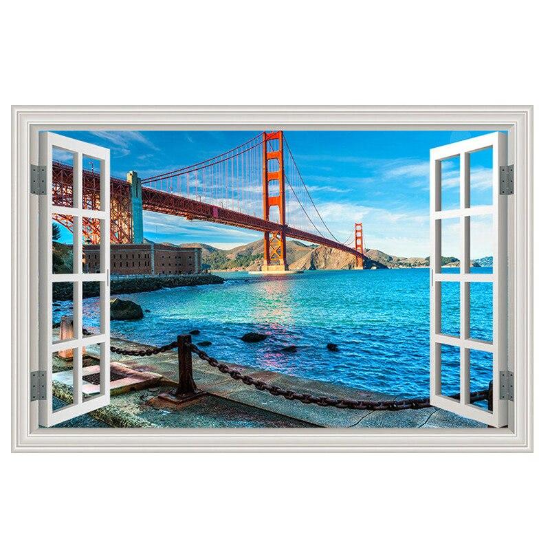 Wall Decal Golden Gate Bridge