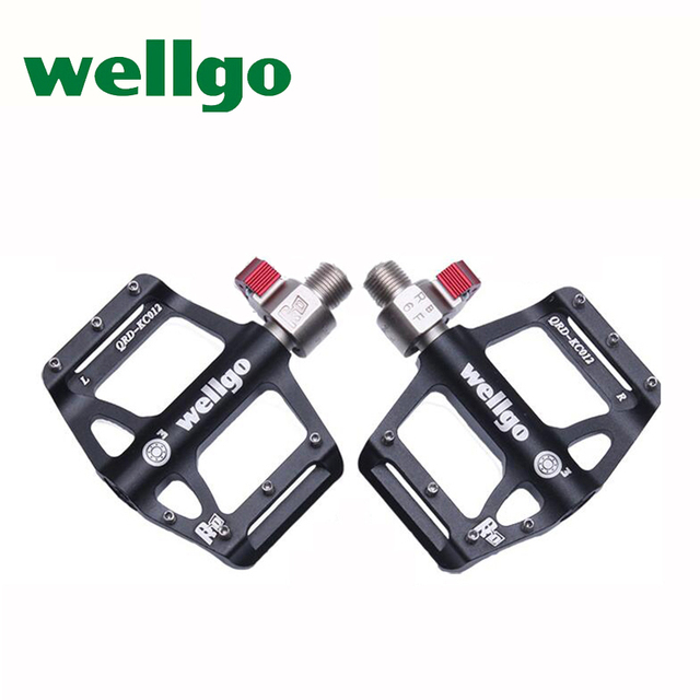 Wellgo Qrd Kc012 New Bicycle Pedal Mtb Quick Release Mountain Bike