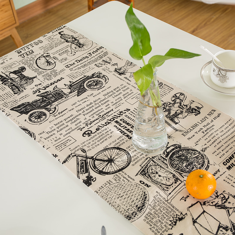 High Grade Home Table decor American style Flowers Ocean Scenic - Home Textile - Photo 4