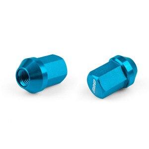 Image 2 - Roues de blocage de roues en alliage daluminium, rayons VOLK, écrous de course, longueur 35MM 12x1, 5/1, 25, RS LN005