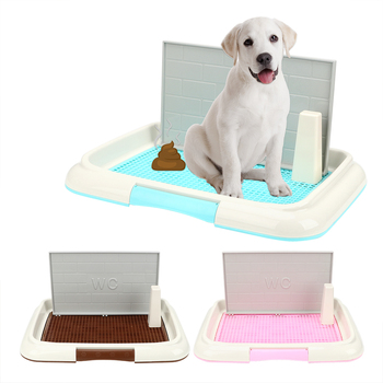 NICEYARD Dog Toilet Potty Puppy Litter Tray Pee Training Toilet Pet Toilet Easy to Clean Bedpan Lattice Pet Product 1