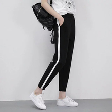 2019 Spring Sweatpants female fashion Harem Pants Loose Trousers For Women Black