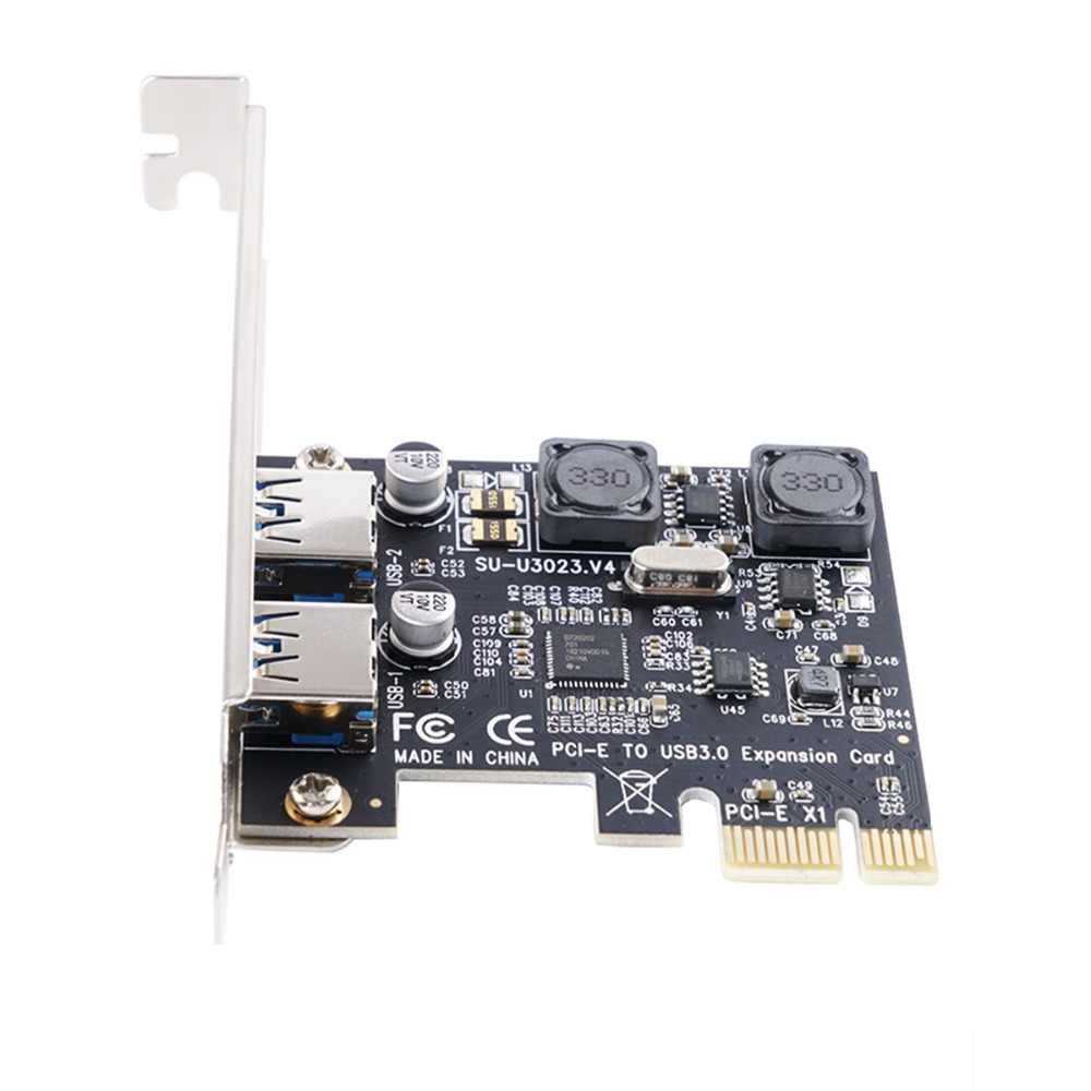 Карта расширения ORICO PCI express, 2 порта USB 3,0, адаптер PCI-e PCIe для настольного компьютера win 10