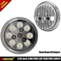 PAR 36 Led work lights 12V led Landscape lighting 24V IP68 Waterproof led Tractor lights RE19081 RE10962 Round 24W lamps x1pc