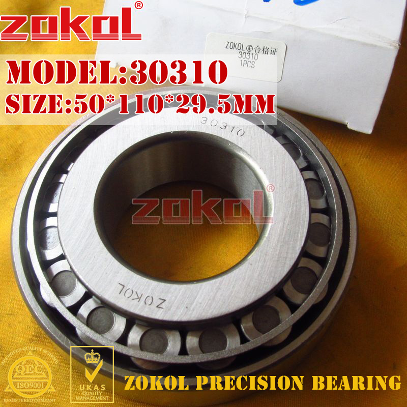 ZOKOL bearing 30310 7310E Tapered Roller Bearing 50*110*29.5mm zokol bearing 31310 27310e tapered roller bearing 50 110 29 5mm