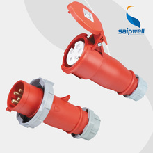 Saipwell Hot Sale IP44 Waterproof Plugs And Sockets 16 amps Industrial Socket High Quality high quality and hot sale100